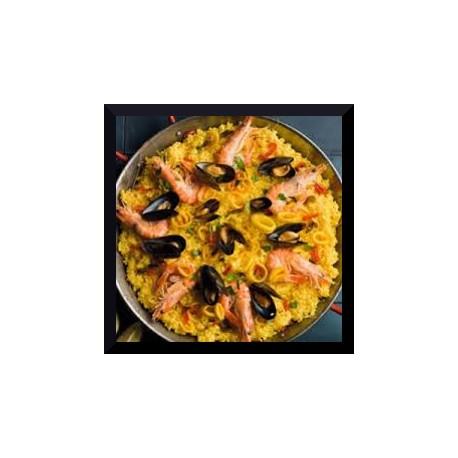 Paella (riz) / Fueda (pâte)