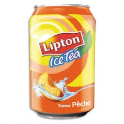 Ice tea pêche 1.50 ttc