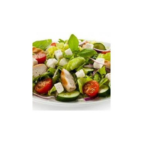Salade repas aux fromages