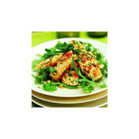 Salade repas au poulet