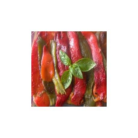 Carpaccio de Poivrons grillés