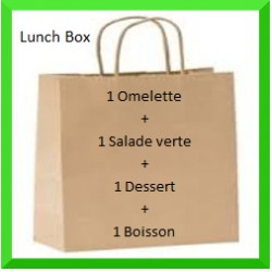 Lunch Box omelette bureau