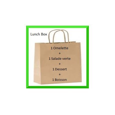Lunch Box omelette bureau