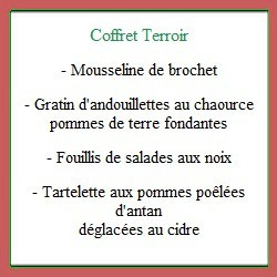 Coffret repas Terroir