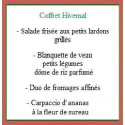 Coffret repas Hivernal