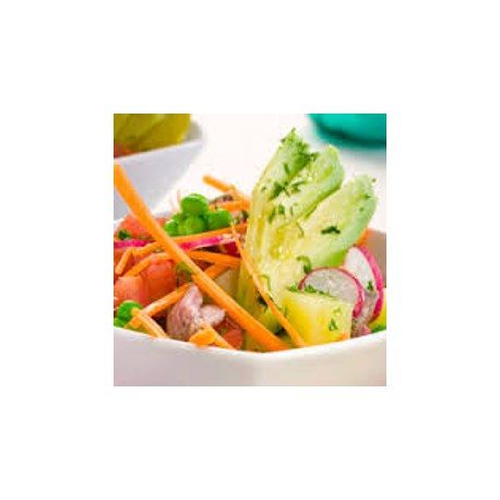 Salade repas crudités
