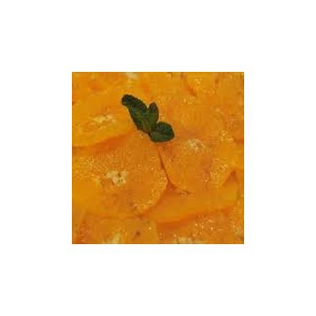 Carpaccio d'oranges aux épices
