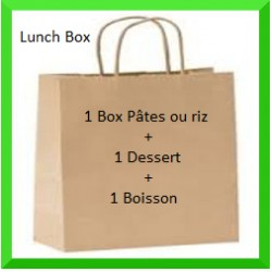 Lunch Box Pâte ou riz +